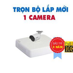 TRỌN BỘ 1 CAMERA HIKVISION FULL HD 1080P